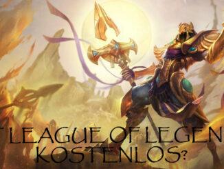 Azir mit der rage ob League of Legends kostenlos ist.